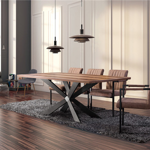 cheap modern wood dining table and chair set