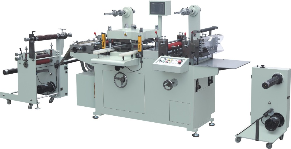 YS-350B Automatic Screen Safegurd Die Cutting Machine With Hot Stamping