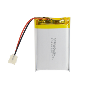 lp603450 square lipo batteries 3.7v 1100mah 063450 recharge lithium battery