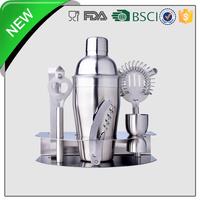 7pcs stainless steel barware