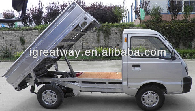 L7e eec e-tipper truck with lift systerm