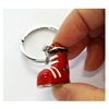 Luxury Christmas boots keyring Santa Claus shoes keychaim for souvenir gifts