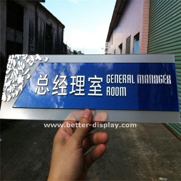 personalized acrylic plastic small laser engraved name plates