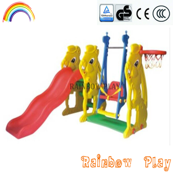 Animal Design Rabbit Style Hide And Seek Climber Slide And Swing Buy Slide And Swing Climber Slide And Swing Rabbit Style Slide And Swing Product On