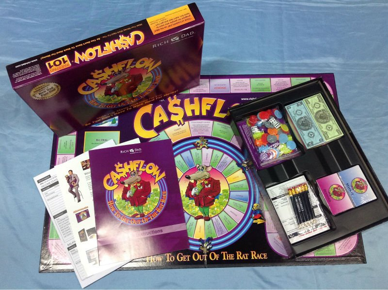 Cash flow boardgame vegas gamble