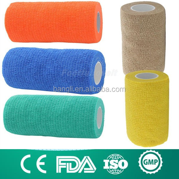 veterinary products vet wrap bandage/horse cohesive bandage