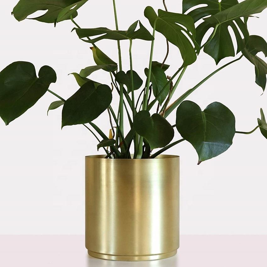 Br Metal Planter 10 8 Or 6 5