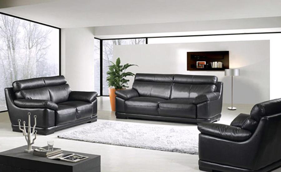 €1518.83 |Livraison gratuite canapé de salon moderne 1 2 3 canapé en cuir  véritable Design français, 1 + 2 + 3 ensemble de canapé sectionnel, chaise  ...