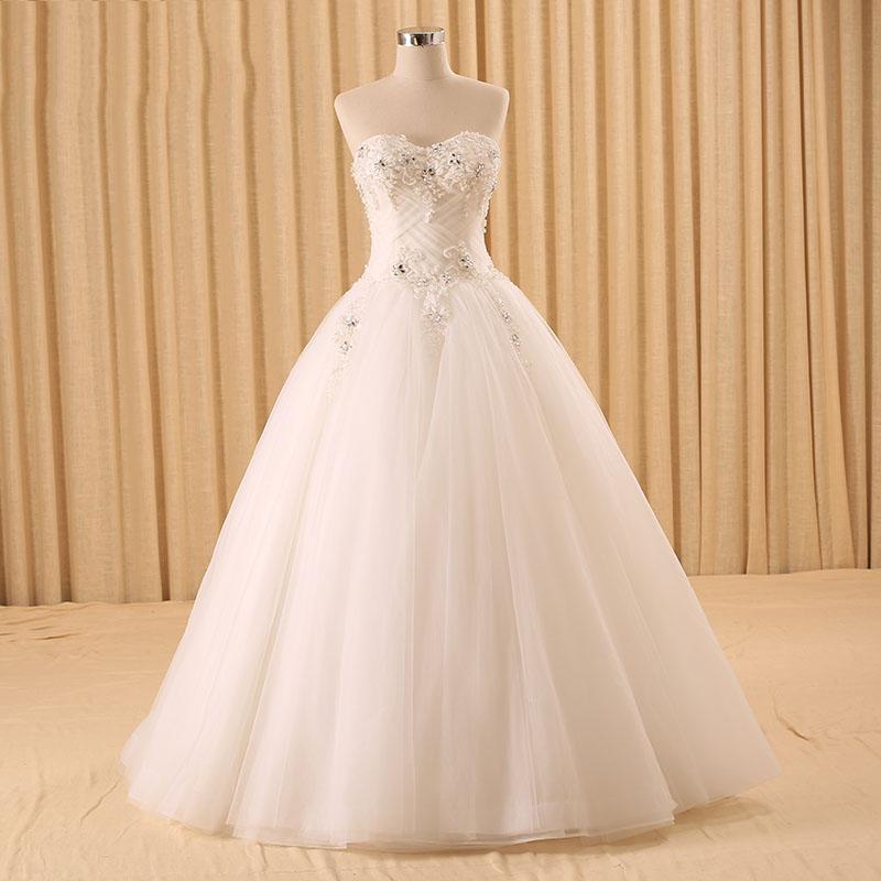 8ac2135caf RSM66115C ninguno de tren sin tirantes sin mangas de la muestra verdadera  vestidos de novia baratos