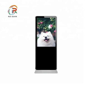 floor stand digital signage led commercial advertising display screen with WiFi