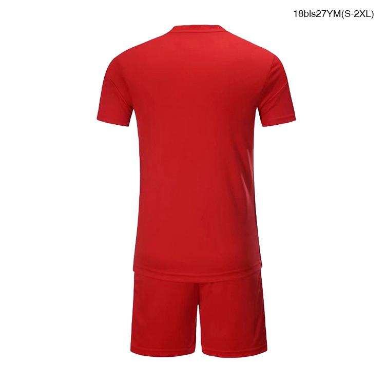 Silonprince Belgium custom sublimated Printing red thai quality football suit soccer uniform