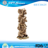 wholesale custom hear no see no speak no elephant statues