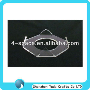 Wholesale clear acrylic Football display stand,ball display support,ball holder