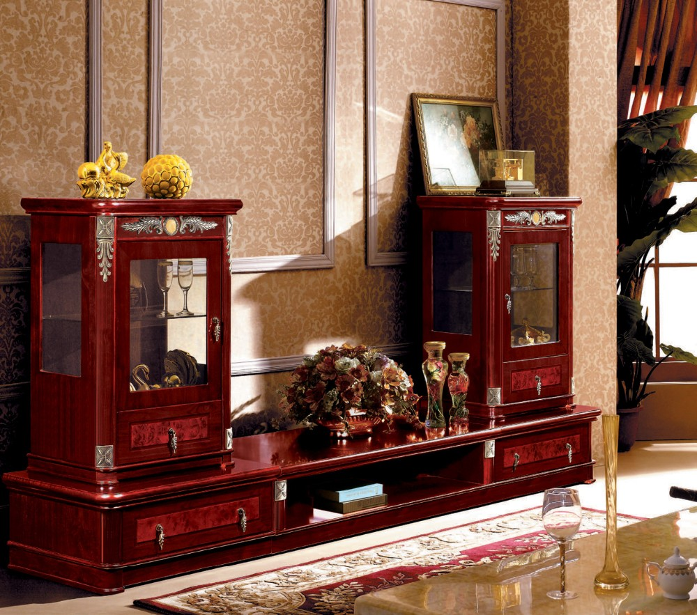 Living Room Cabinet Design In India: Arabic Luxury Modern Hand Carved Mdf Wooden Furniture