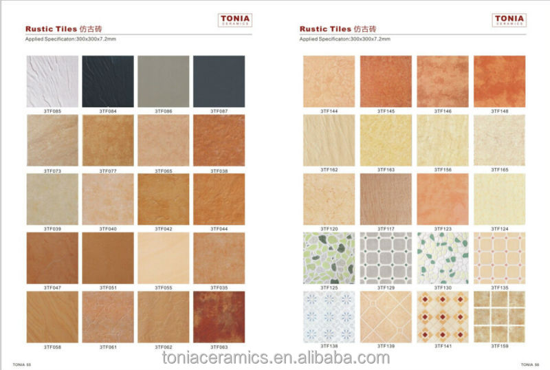 Beige Color Glazed Ceramic Tile Build Materials Bathroom Hot Sale Design In Pakistan