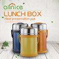 High quality preservation stainless steel handle pot/food bento lunch box