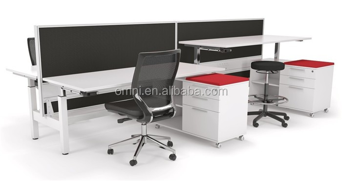 height adjustable office desk. Bench Desk DC Electric Height Adjustable Office Table Legs M