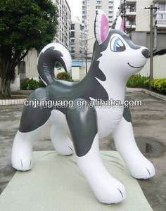 inflatable wolf