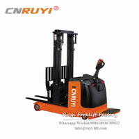 Warehouse Lifting Equipment Electric Pallet Truck Stacker