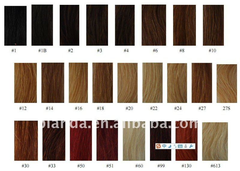 Human Hair Color Ring Buy Hair Color Sample Ringhair Extension