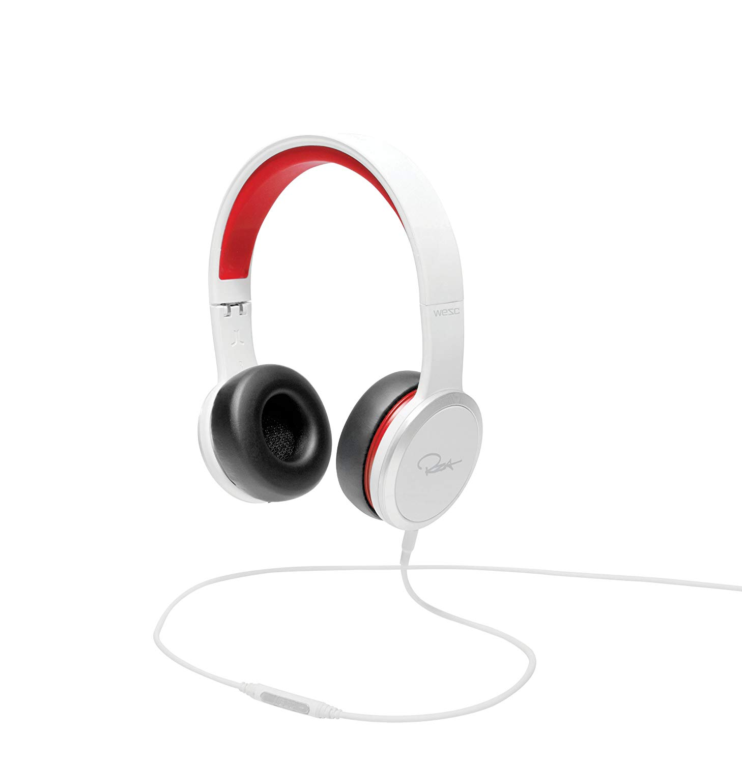 WeSC RZA Street Headphones (White/Red)