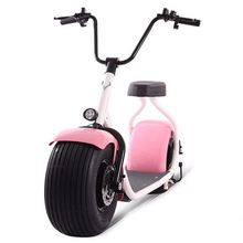 2016 new products big two wheels citycoco 1000W 60V electric scooter, electric motorcycle