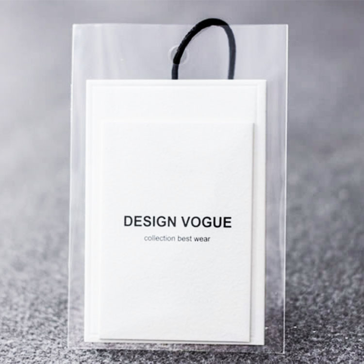 Wholesale Fashion garment label hang tag for clothing
