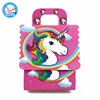 Newest 6pcs unicorn gift candy box theme birthday party supplies wedding christmas DIY crafts xmas 2018 new product bag boxes