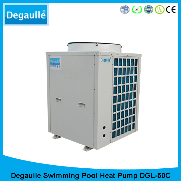 degaulle high quality energy efficient water heater air source swimming pool heat pump dgl50c