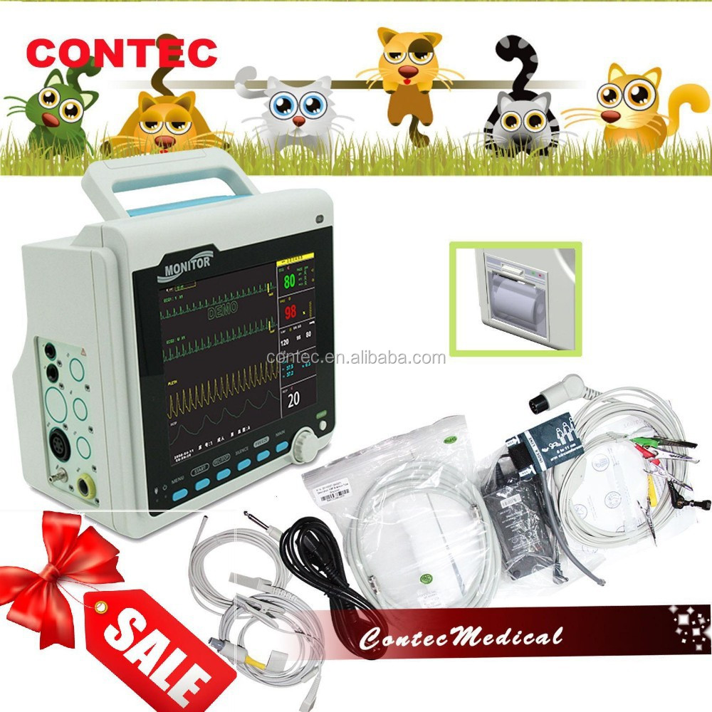 CONTEC CMS6000-VET Vital Signs Veterinary patient monitor -clinic animal monitor