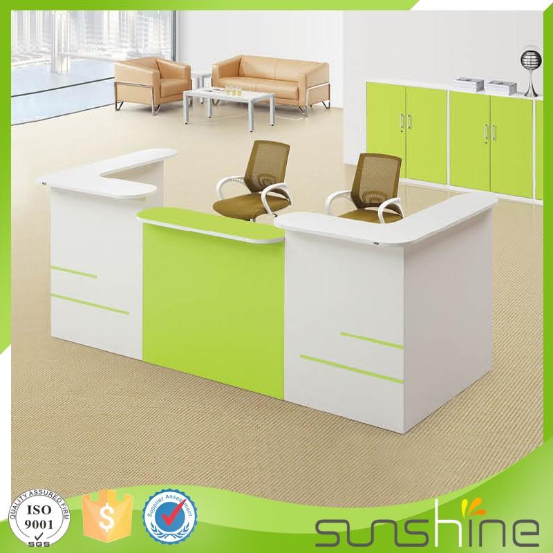 Ht rct07 salon small reception desk small office furniture for Scrivania reception