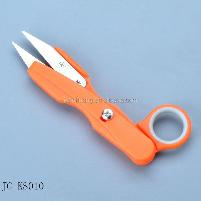Tools Garden Hand Tools 1pc Gardening Yarn Scissors Cross Stitch Special Tools U-shaped Scissors Color Yarn Scissors Thread Spring Scissors
