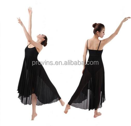 New Adult Girls Long Dress Ballet Dance Costumes