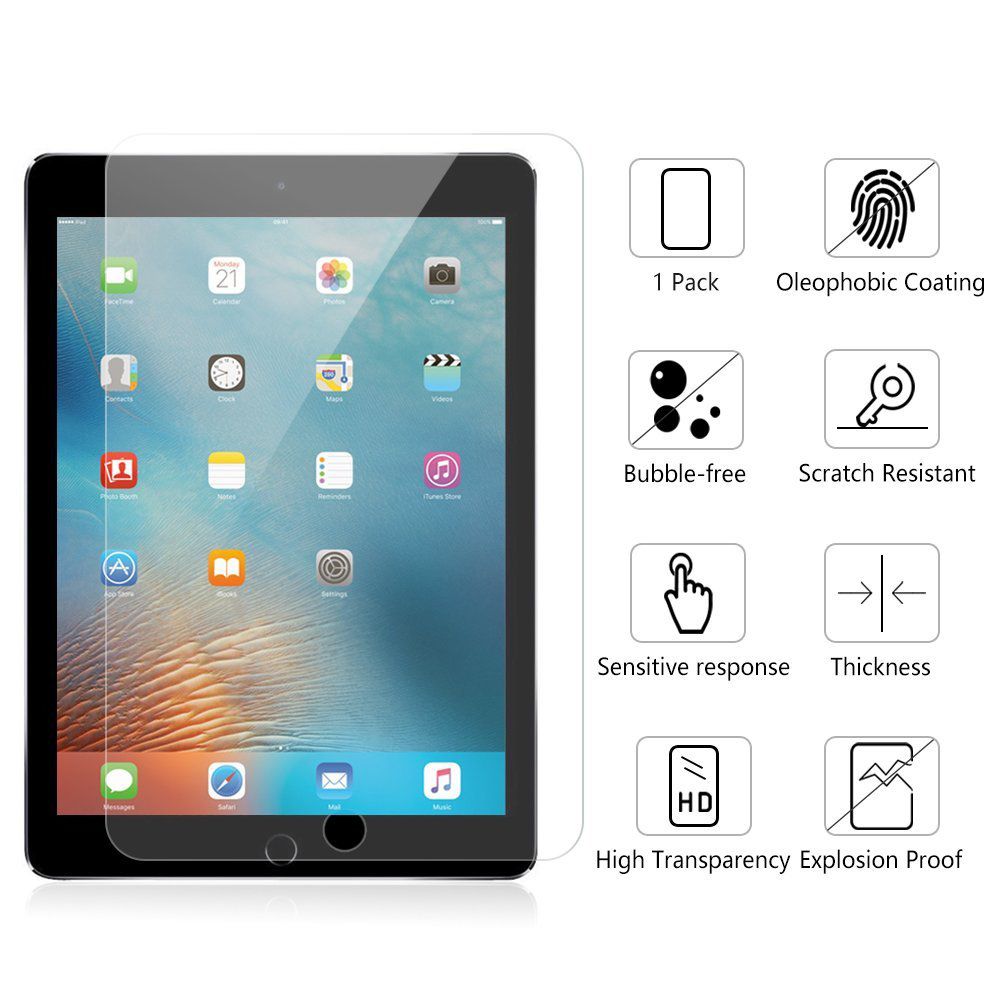 Explosion Screen Protector For iPad 2 3 4 5 6 For iPad 4 Tempered glass For iPad Mini