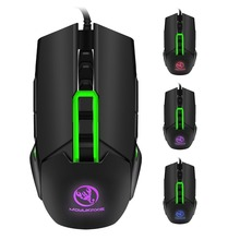 ZERODATE 2500DPI Optical Wired Gaming Mechanical Mouse For
