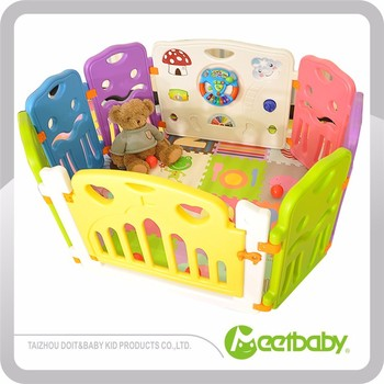 b5d4661f0c260 Best Choice Products Baby Playpen Kids 8 Panel Safety Play Center Yard Home  Indoor Outdoor New
