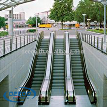 Shopping Mall Escalator Moving Stairs