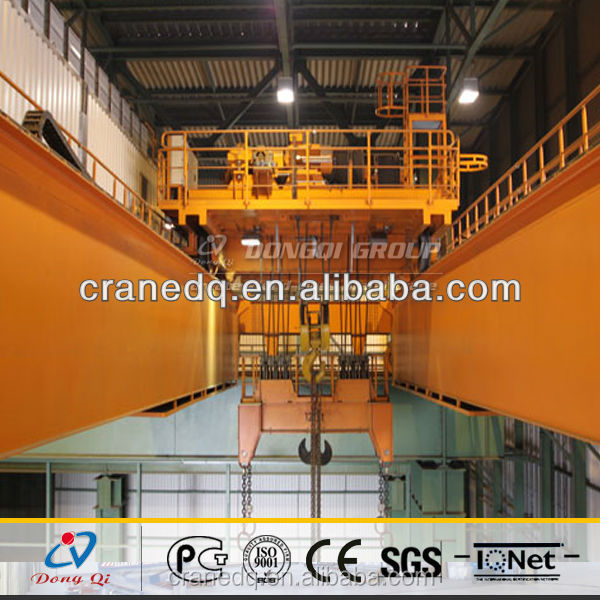 high quality 30 ton QD Type trolley move overhead crane