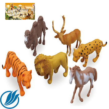 Plastic Educational Toy From China Zoo Animal Model Toys Plastic
