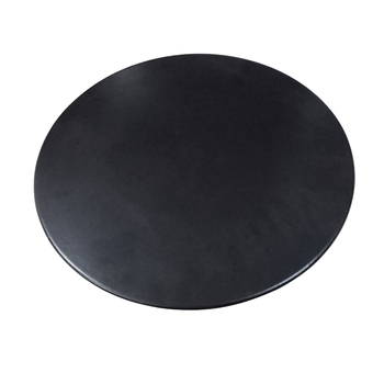 33cm diameter pizza baking stone with stainless steel pan