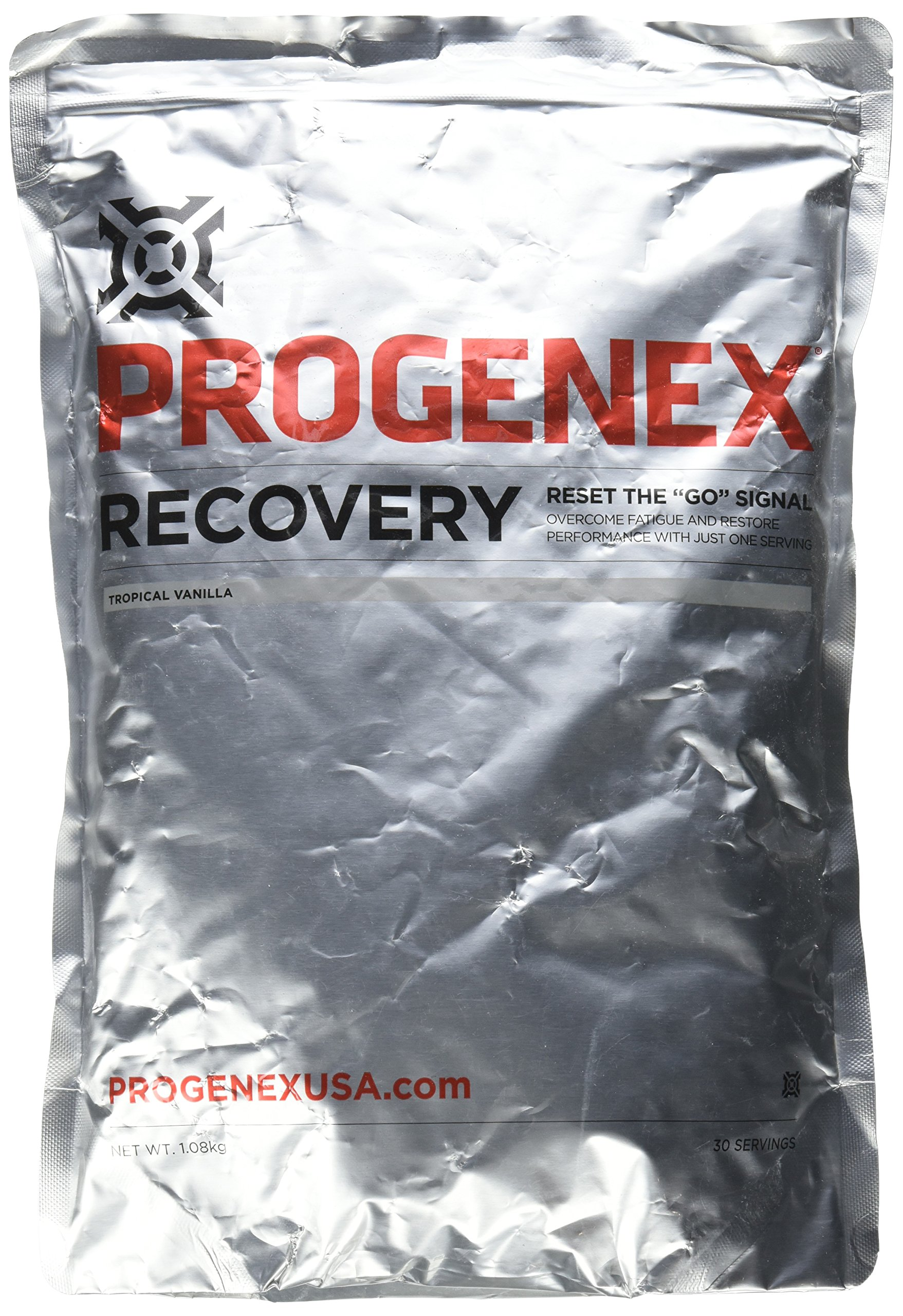 PROGENEX® Recovery | Best Post Workout Supplement | Hydrolyzed Whey Protein Shake Drink Mix | Help Sore Muscles | Tastes Great | Incredible Results | 30 Servings, Tropical Vanilla