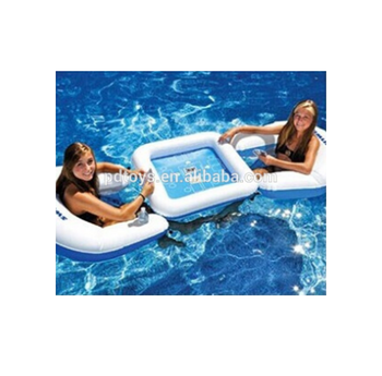 Ce Pvc Water Float Air Inflatable Poker Game Chair Table Buy Poker Game Chair Table Floating Table And Chairs Multi Purpose Game Table Product On