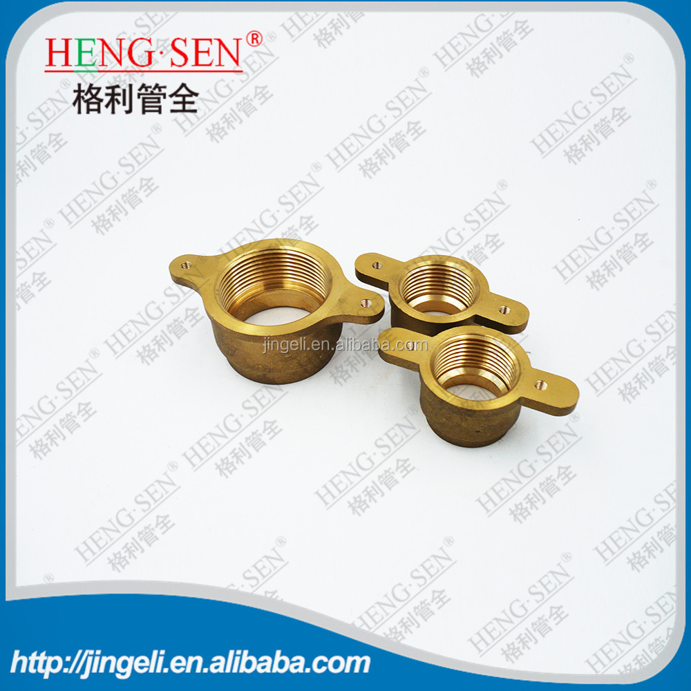 Refrigeration accessories brass joint fittings