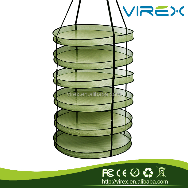 Hot Sale 4,6,8 hydroponic supplys mesh drying rack,drying net