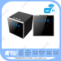 2016 Best Selling HD 1080P Wi-Fi/IP Wireless Clock Hidden Camera/Spy Camera Mini Spy Camera Nanny Cam