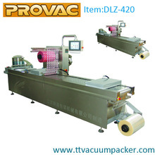 Automatic plastic vacuum packaging machine/equipment for fresh gherkins