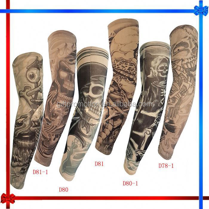 EH056 new style fabric tattoo sleeve