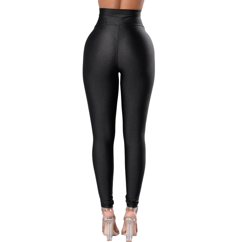 Fashion New Style Black High Waisted Tight Seamless Yoga Leggings For Women