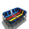 Kids Play Amusement Park Bungee Trampoline Exercise Park middle Jumping Games