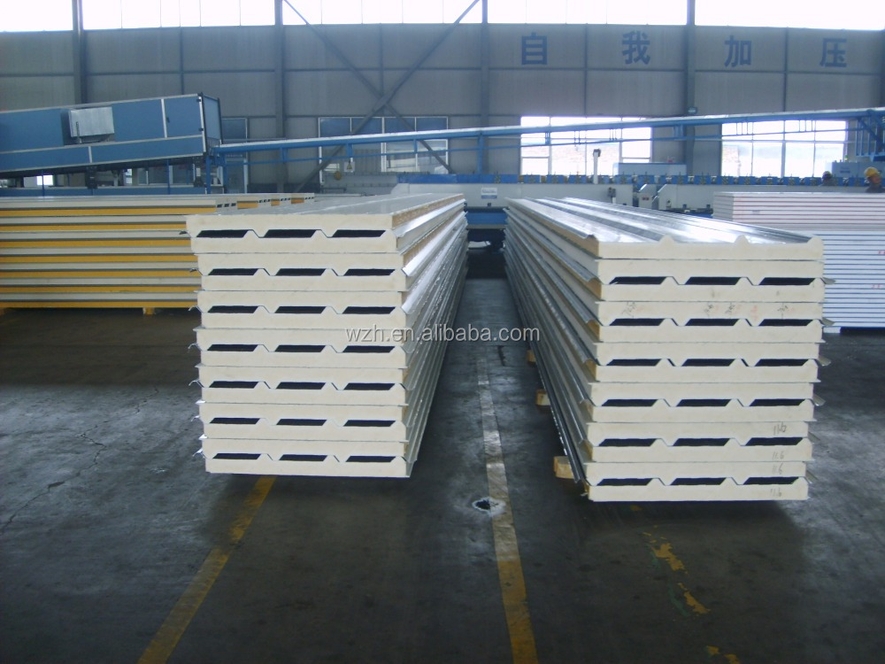 Top Quality lightweight construction materials and insulated styrofoam concrete sandwich panel for clean room wall panels